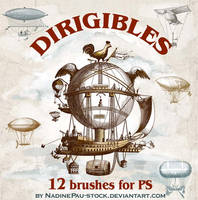 Dirigibles by NadinePau-stock