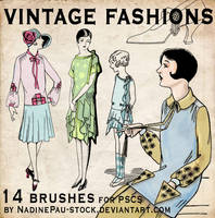 vintage fashions - 14 bruses