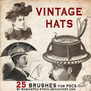 vintage hats - 25 bruses