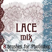 Lace mix by NadinePau-stock