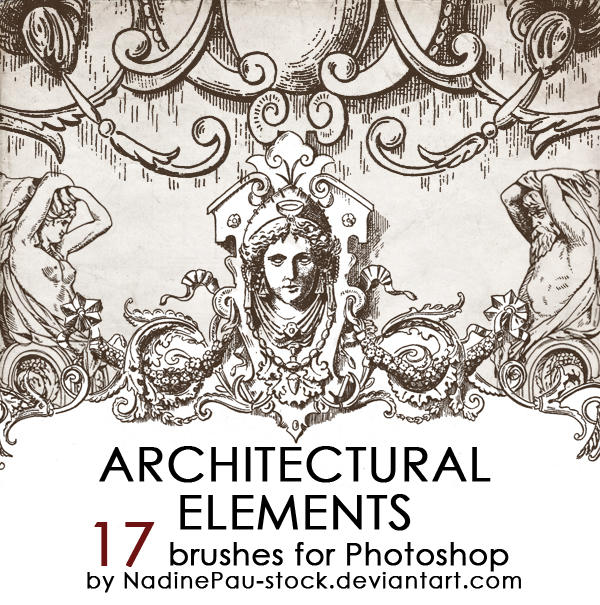 Architectual ornaments by NadinePau-stock