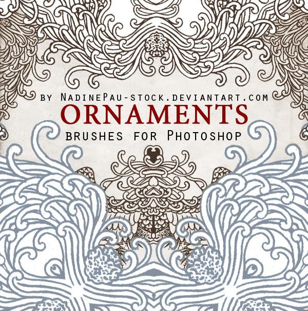 ORNAMENTS by NadinePau-stock