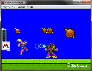 Super Megaman Bros  Level Tester by Xabring