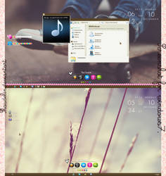 Screenshot Windows7 by coral-m