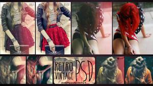 RetroVintage PSD