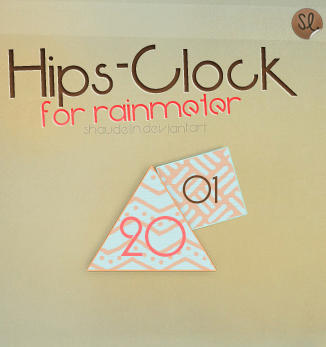 HipsClock - Rainmeter by Ihavethedreamersdise