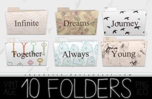 Vintage - Folders by coral-m
