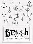 Mini Anchors - Brush