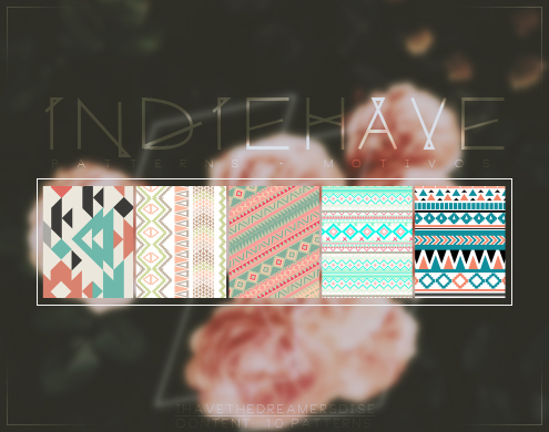 Indiehave - Patterns by Ihavethedreamersdise