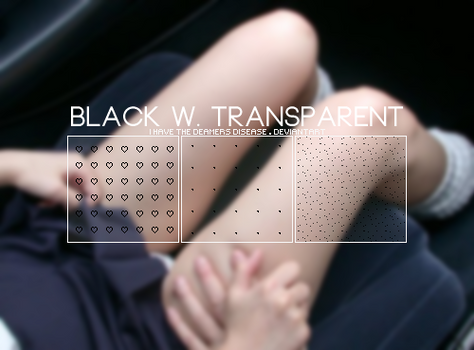 Black w Transparent - .Pat