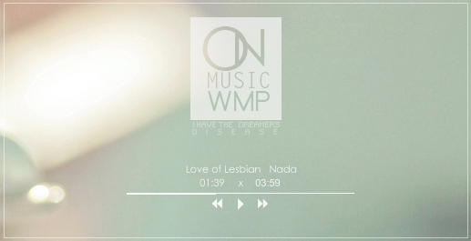 On Music WMP - Rainmeter by coral-m