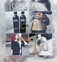 Don't Under - .Psd by coral-m