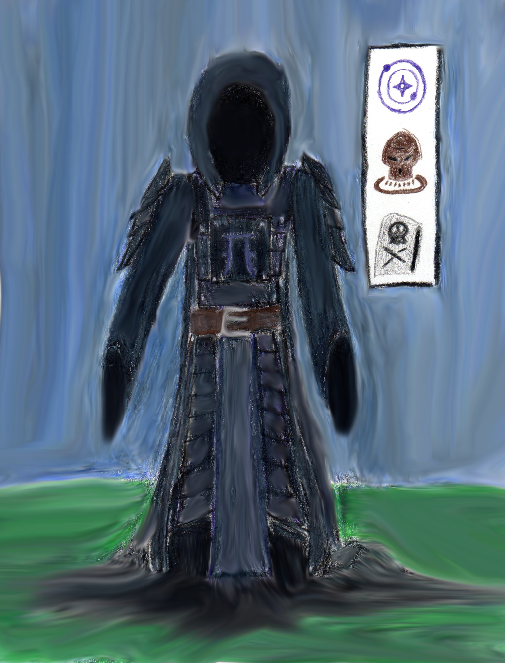 Thaumcraft 4 eldritch guardian sketch by darkfury45 on - Eldritch wallpaper ...