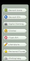 Gallery Navigation Icon Pack