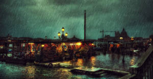 Dancing in the Rain HDR by ISIK5