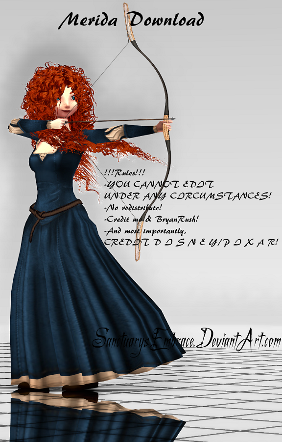 {MMD DOWNLOAD} Merida by SanctuarysEmbrace