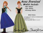 {MMD DOWNLOAD} Anna (Casual + Coronation)