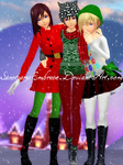 {MMD XMAS GIFT DL: KNX} MERRY CHRISTMAS! :2015: