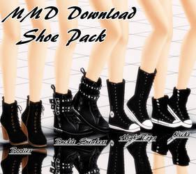 {MMD Download} Female Shoe Pack