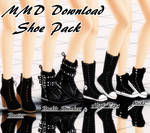 {MMD Download} Female Shoe Pack