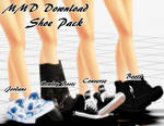 {MMD Download} Male Shoe Pack