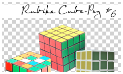 Rubik's Cube Png Pack 05 by Carlytay