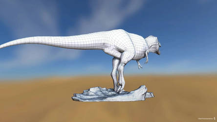 Gorgosaurus 3d model Turntable
