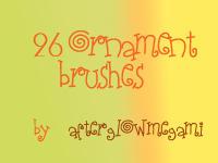 26 Ornament brushes