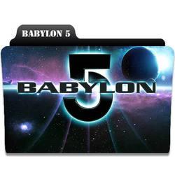Babylon 5 Tv Folder Icon by rickymasters235