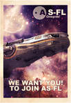 AS-FL Recruitment Poster, Freelancer