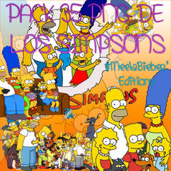 Pack 35 png Los Simpsons