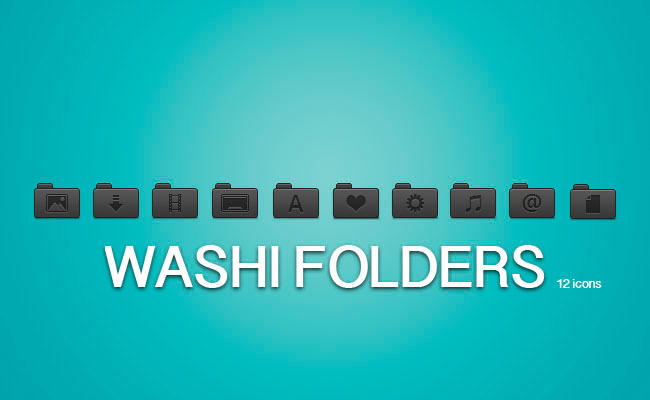 Washi Folders by draseart