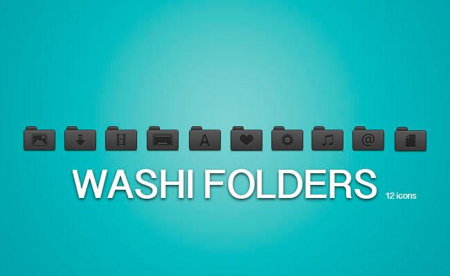 Washi Folders by draseart
