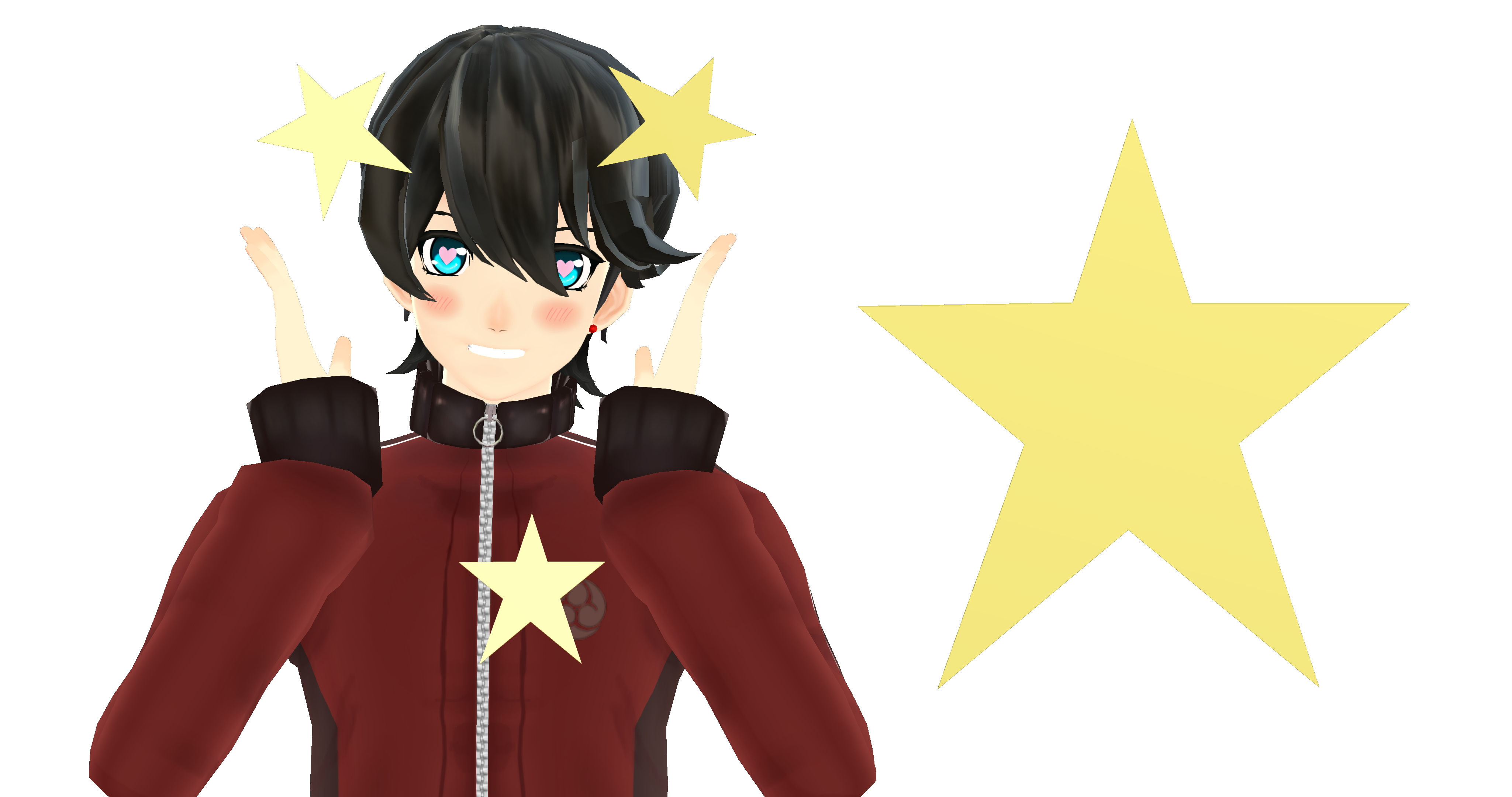 MMD Accessory Download: GOOD NOODLE STAR by RollingHannah on