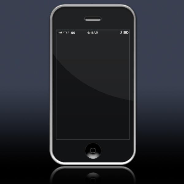 iPhone 3G psd template by jbensch