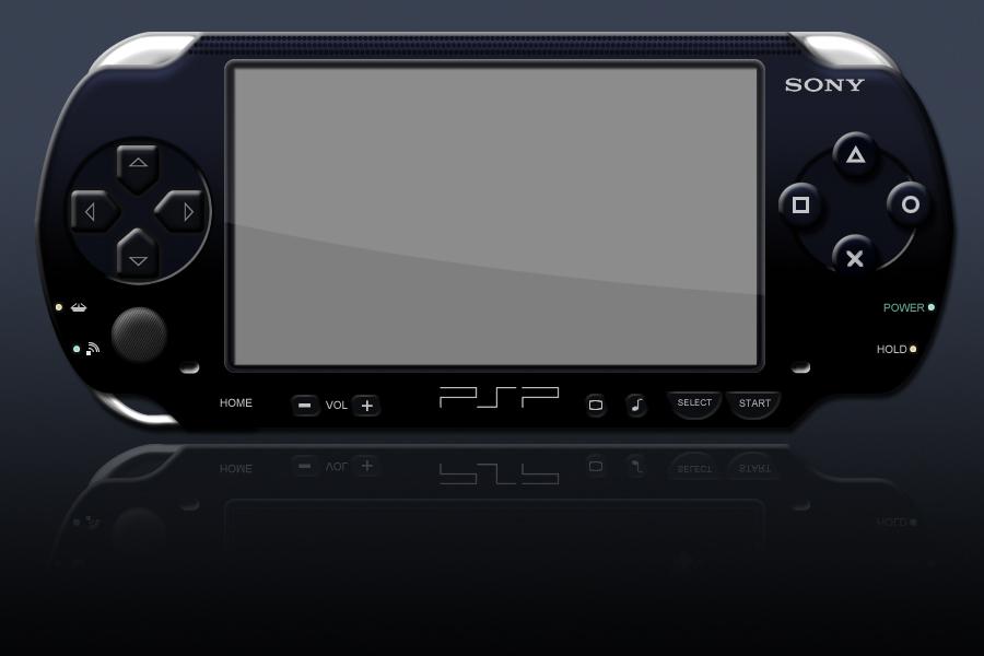 PSP psd template