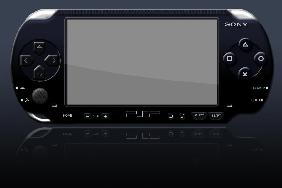 PSP psd template by jbensch