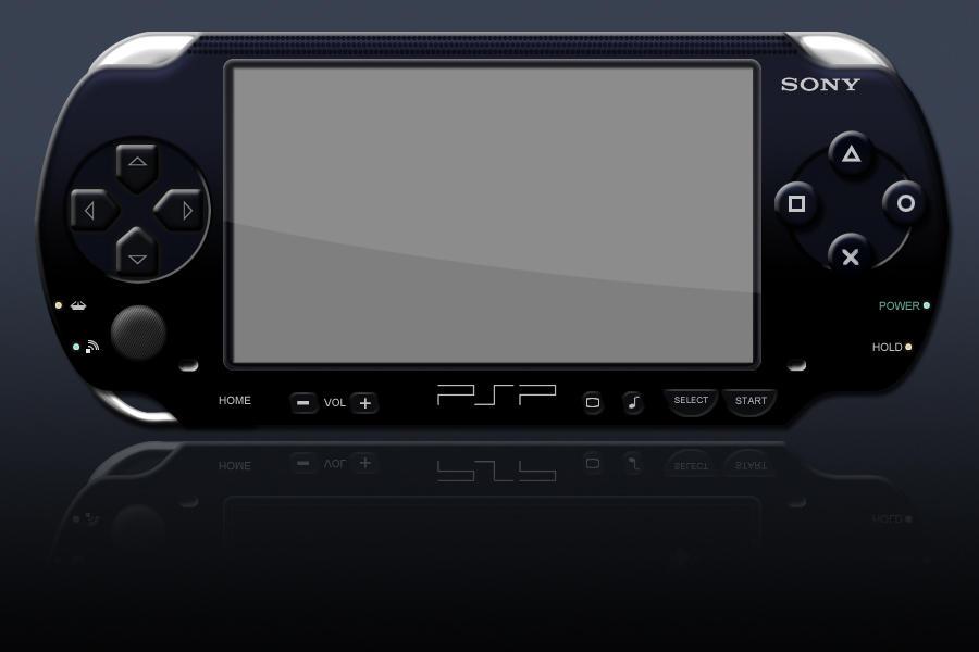 PSP Psd Template By Jbensch