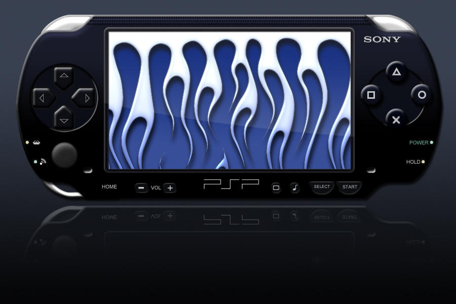 PSP Flames - Snow White by jbensch