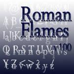 Roman Flames Font