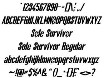 Sole Survivor by jbensch