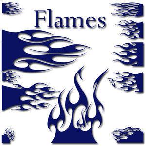 Flames Font...er...Dingbat... by jbensch