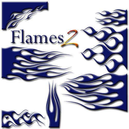 Flames Font -Dingbat- 2 by jbensch