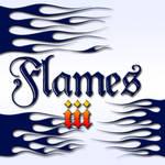 Flames iii - dingbat font