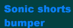 Sonic shorts Bumper