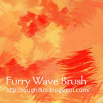 Furry Wave PhotoShop Brush