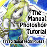 MANUAL PS tutorial - TRAD ART by Selene-Blackthorn