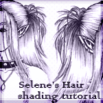 Hair shading tutorial by Selene-Blackthorn