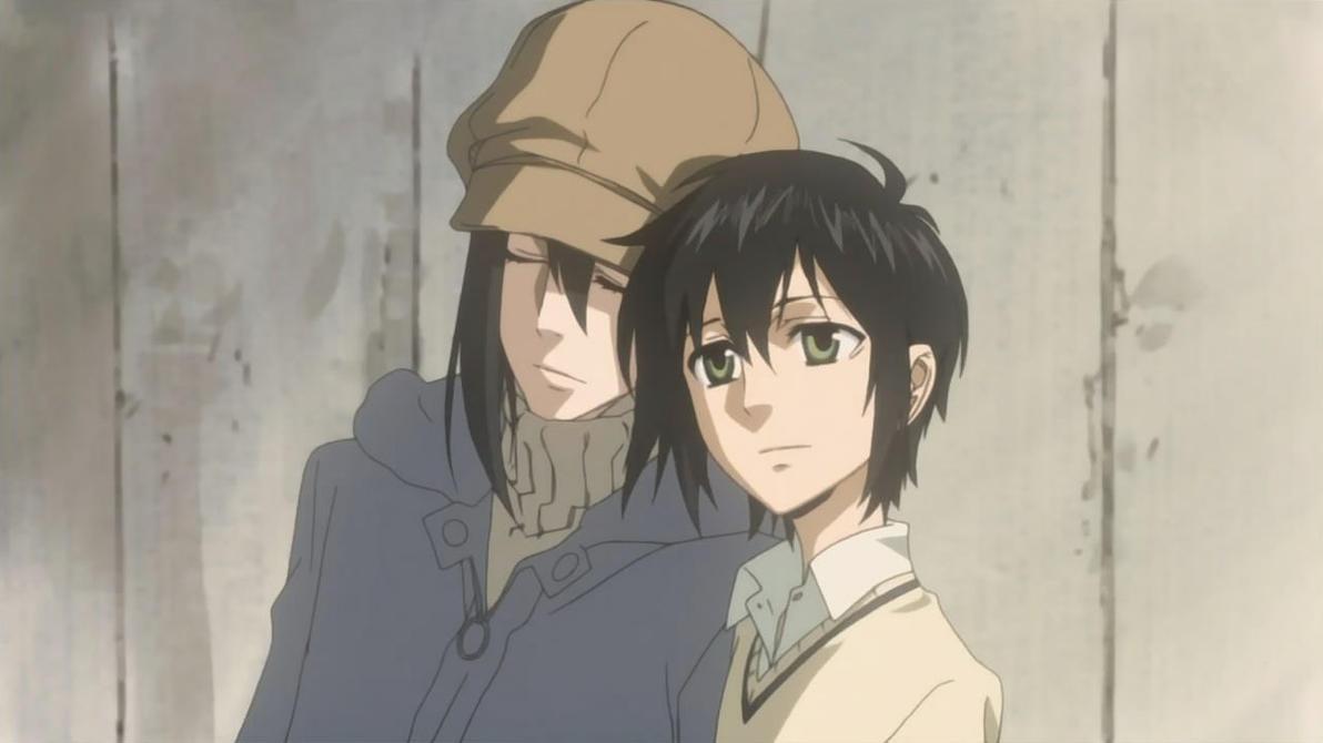 Nabari No Ou Miharu And Yoite Kiss Yoite and Miharu - You...