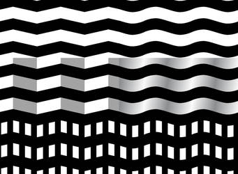 Waves and Ridges Patterns by clickpopmedia